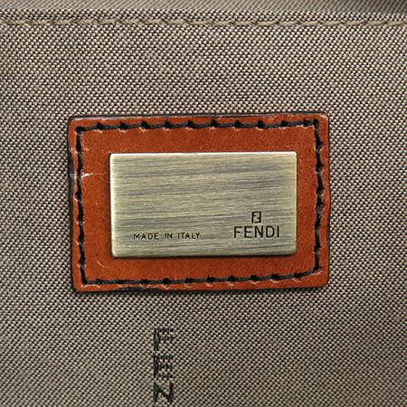 Fendi(펜디) 8BR551 B 벨트 장식 패브릭 체인 숄더백 이미지5 - 고이비토 중고명품