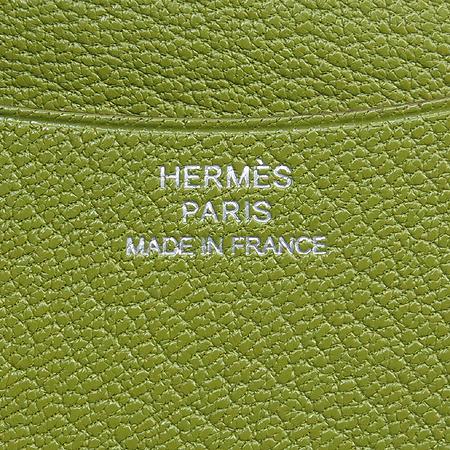 Hermes(에르메스) 레드 그린 혼방 율리쎄 쁘띠 다이어리