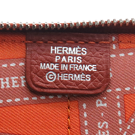 Hermes(에르메스)  실크 혼방 비전사이즈 짚업 다이어리