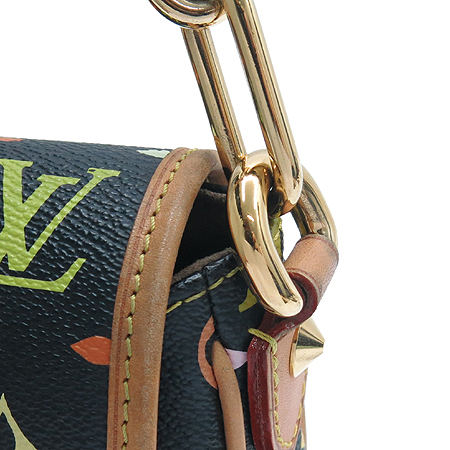 Louis Vuitton(루이비통) M40306 모노그램 멀티컬러 블랙 파띠 숄더백 이미지5 - 고이비토 중고명품