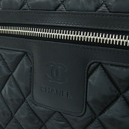Chanel(샤넬) A48616 블랙 패브릭 코쿤 퀼팅 메신져 크로스백