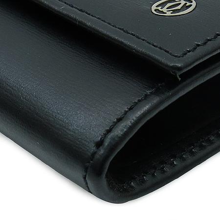 Cartier(까르띠에) L3000205 블랙 레더 파샤 동전 지갑