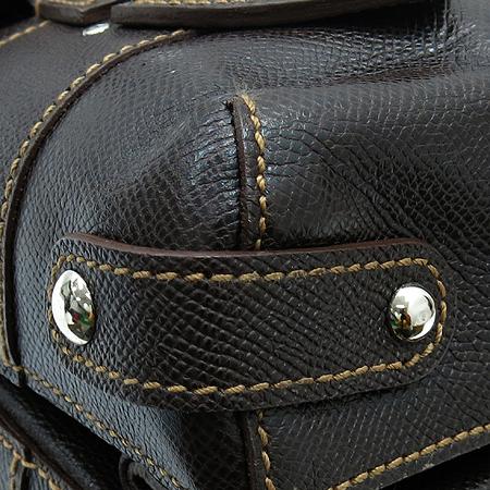 Ferragamo(페라가모) 21 7875 은장 간치니 장식 레더 숄더백