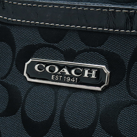 Coach(코치) F15146 갤러리 시그네쳐 플리츠 토트백