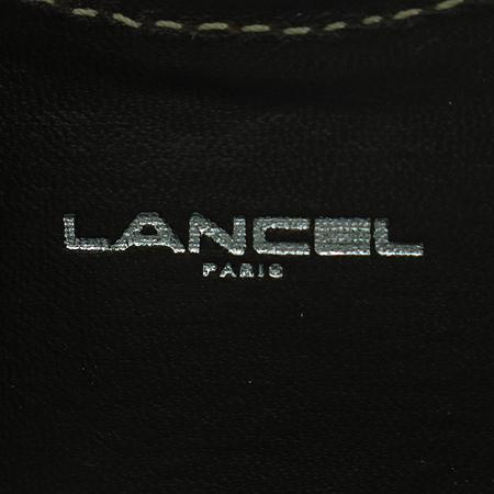 LANCEL(란셀) 레더 스티치 동전지갑
