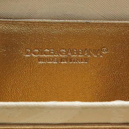 D&G(돌체&가바나) 금장 라운드 로고 장식 패브릭 다용도 지갑 [강남본점] 이미지5 - 고이비토 중고명품