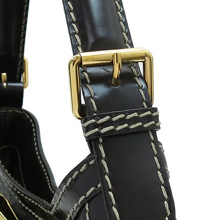 Gucci(구찌) 189885 브라운 레더 금장 리본 장식 호보 숄더백 [강남본점] 이미지3 - 고이비토 중고명품