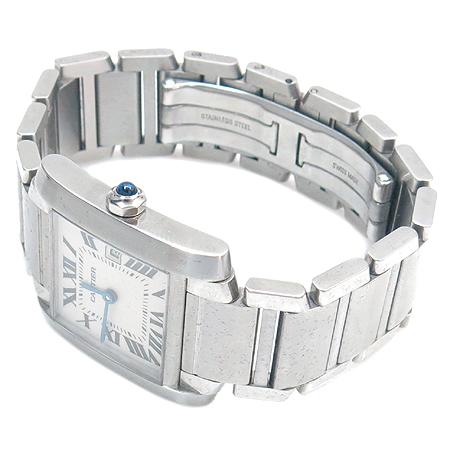 Cartier(까르띠에) 탱크 M 사이즈 남여공용 스틸 시계 [부천 현대점]