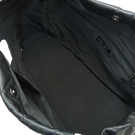 Chanel(샤넬) A47921 램스킨 블랙 로고스티치 LIDO(리도) 은장체인 숄더백 [부산센텀본점] 이미지6 - 고이비토 중고명품