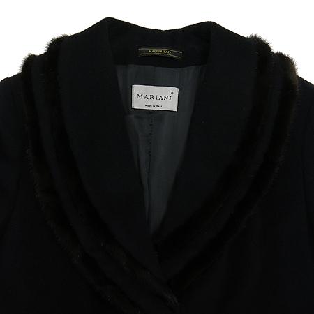 MARIANI(마리아니) 밍크혼방 블랙컬러 롱 코트[부산센텀본점] 이미지2 - 고이비토 중고명품