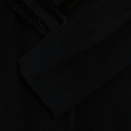 MARIANI(마리아니) 밍크혼방 블랙컬러 롱 코트[부산센텀본점] 이미지5 - 고이비토 중고명품