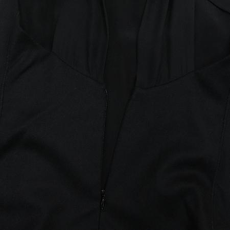 ALEXANDER WANG(알렉산더왕) 블랙컬러 민소매 원피스 (배색:실크 100%) [인천점]