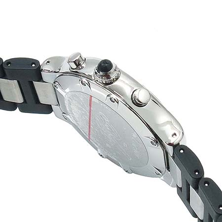 Cartier(까르띠에) W10125U2 MUST 21세기 크로노스카프 러버 밴드 폴딩 버클 남성용 시계