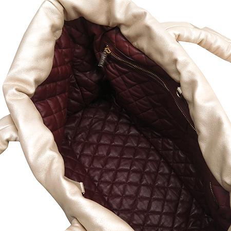 Chanel(샤넬) COCOON(코쿤) 라이트 골드+와인 램스킨 양면 빅 토트 겸 숄더백 [동대문점]