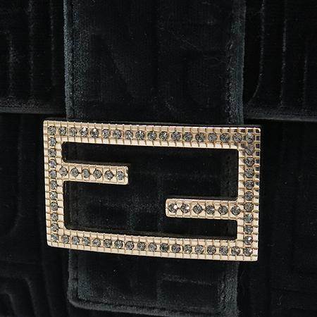 Fendi(펜디8BR600 스웨이드 바게트 숄더백