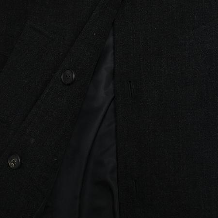 eu(유) 블랙 컬러 코트 (벨트 set)