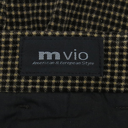 MVIO(엠비오) 체크 바지