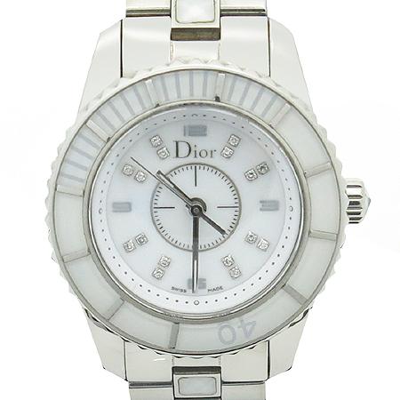 Dior(크리스챤디올) CD112112 16P 다이아 크리스탈 베젤 여성용 시계 [부산센텀본점]
