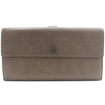 Chanel(샤넬) A68625 다크 베이지레더 은장로고 장식 2단 장지갑 [강남본점] 이미지3 - 고이비토 중고명품
