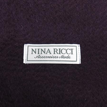 NINARICCI(니나리찌) 캐시미어 100% 퍼플와인 머플러