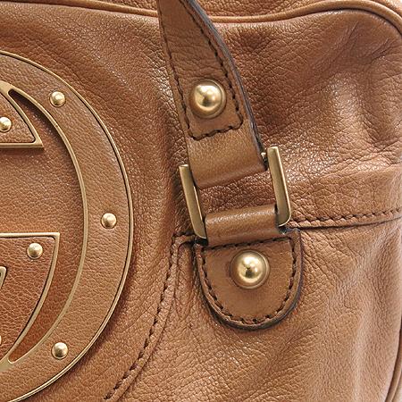 Gucci(구찌) 121544 브라운 레더 로고 장식 숄더백 이미지3 - 고이비토 중고명품