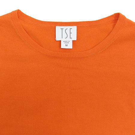 TSE(티에스이) 오렌지컬러 반팔 티 [대구반월당본점]
