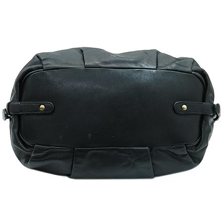Prada(프라다) BR4281 금장 로고 장식 블랙 레더 2-WAY 이미지4 - 고이비토 중고명품