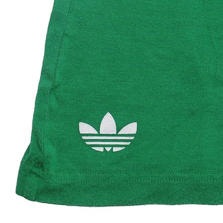 Adidas(아디다스) 그린컬러 반팔 티