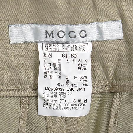 MOGG(모그) 베이지컬러 바지