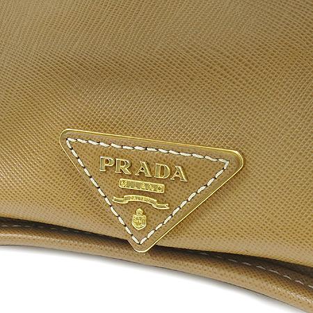 Prada(프라다) BN2254 로고 장식 자가드 사피아노 레더 트리밍 2WAY [명동매장]