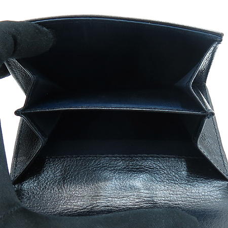 Dior(크리스챤디올) 자가드 플라이트 은장 D로고 반지갑