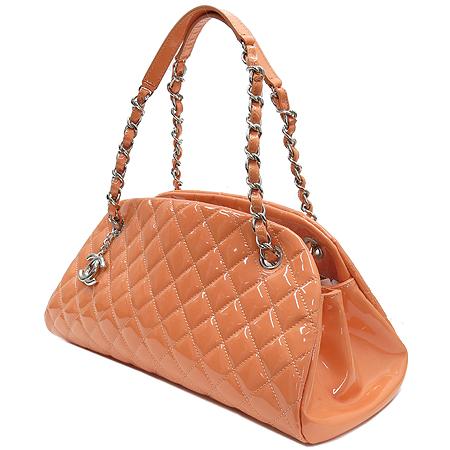 Chanel(샤넬) 마드모아젤 페이던트 볼링 은장체인 숄더백 [강남본점]