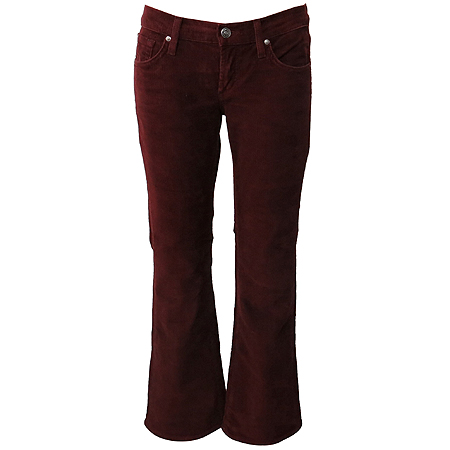 Premium Jeans(프리미엄진) JAMES CURED BY SEUN(제임스진) 버건디컬러 코듀로이 바지