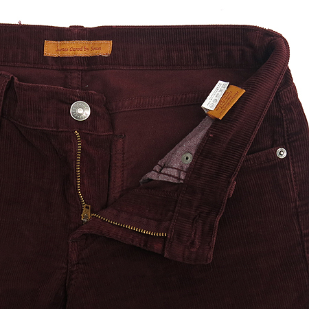 Premium Jeans(프리미엄진) JAMES CURED BY SEUN(제임스진) 버건디컬러 코듀로이 바지 이미지2 - 고이비토 중고명품