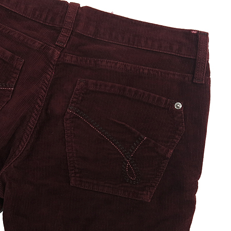 Premium Jeans(프리미엄진) JAMES CURED BY SEUN(제임스진) 버건디컬러 코듀로이 바지 이미지3 - 고이비토 중고명품