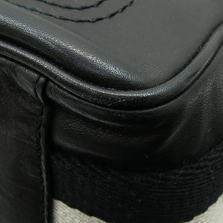 Bally(발리) TABELIO 블랙 레더 삼선스티치 크로스백