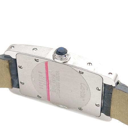Cartier(까르띠에) 18K(750) 화이트골드 아메리칸 탱크 여성용 시계