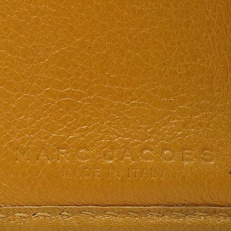 Marc_Jacobs (마크제이콥스) 엘로우 레더 퀼팅 금장 버클장식 반지갑