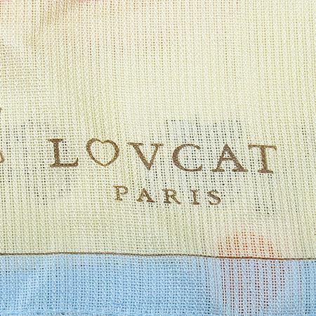 LOVCAT(러브캣) 실크 100% 스카프