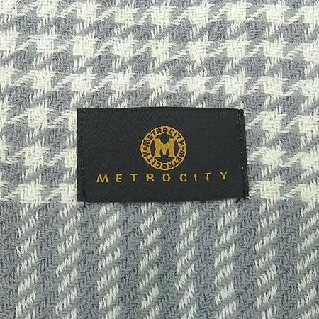 Metrocity(메트로시티) 모 혼방 체크 머플러