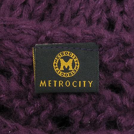 Metrocity(메트로시티) 아크릴 100%  퍼플 머플러