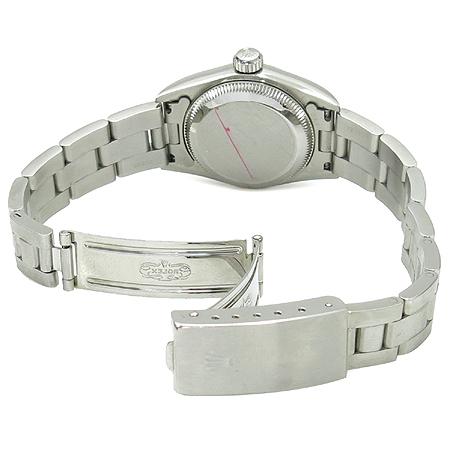 Rolex(로렉스) 67180 블루판 스틸밴드 OYSTER PERPETUAL(오이스터 퍼페츄얼) 여성용 시계