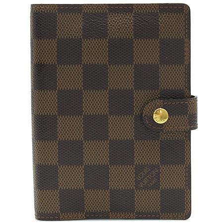 Louis Vuitton(루이비통) R20700 다미에 에벤 캔버스 스몰링 아젠다 커버 다이어리