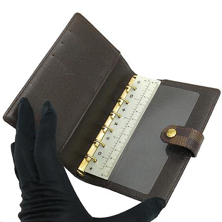 Louis Vuitton(루이비통) R20700 다미에 에벤 캔버스 스몰링 아젠다 커버 다이어리 이미지3 - 고이비토 중고명품