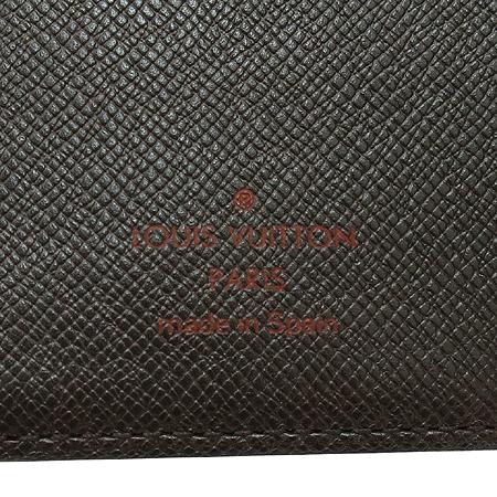 Louis Vuitton(루이비통) R20700 다미에 에벤 캔버스 스몰링 아젠다 커버 다이어리 이미지4 - 고이비토 중고명품