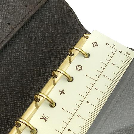 Louis Vuitton(루이비통) R20700 다미에 에벤 캔버스 스몰링 아젠다 커버 다이어리 이미지5 - 고이비토 중고명품