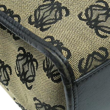Loewe(로에베) 150402 로고 패턴 패브릭 숄더백