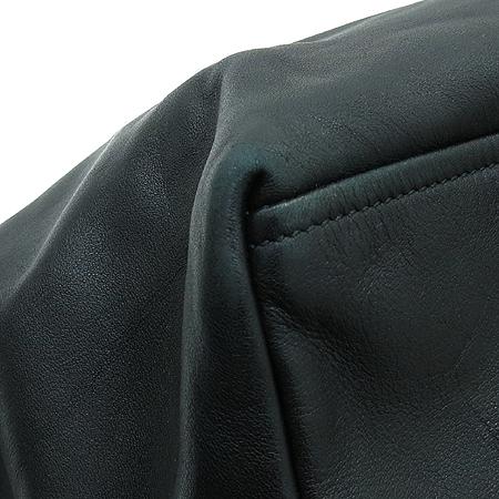 Prada(프라다) BR4487 블랙 레더 은장 체인 숄더백 [압구정매장]