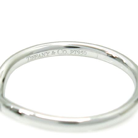 Tiffany(티파니) PT950(플레티늄) ELSA PERETI(엘사퍼레티) 3포인트 다이아 반지-15호