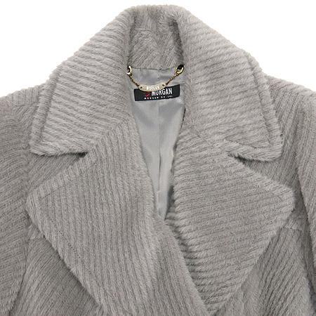 MORGAN(모르간) 그레이컬러 알파카혼방 코트 (허리끈SET) 이미지2 - 고이비토 중고명품